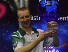 NICK BRETT - THE NEW WORLD INDOOR SINGLES CHAMPION